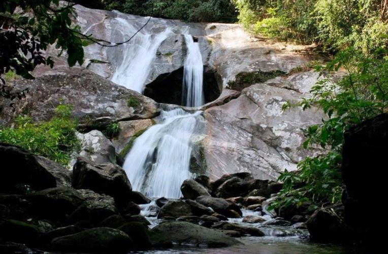 cachoeira sete 7 quedas aldeia velha