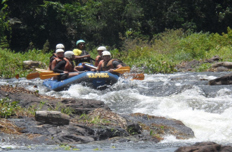 Rafting em Taboquinhas, Bahia.
