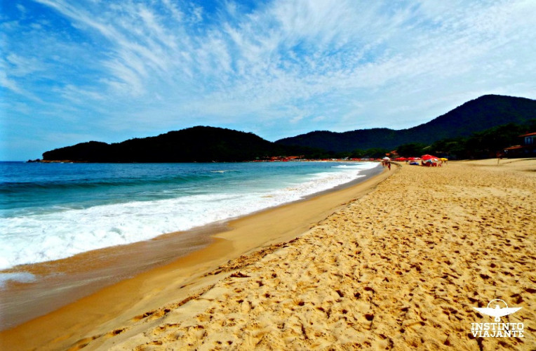 Praia de Fora, Trindade, Paraty, RJ, Brasil
