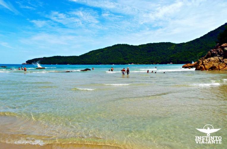 Praia do Meio, Trindade, Paraty, RJ, Brasil