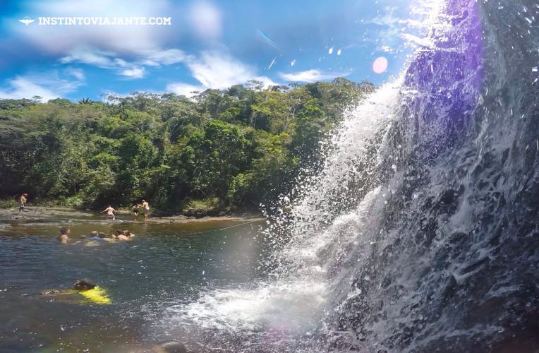 cachoeira do tijuipe serra grande bahia