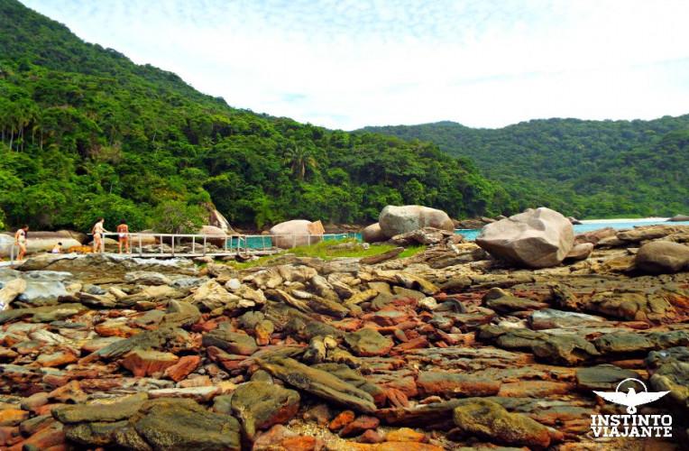 Piscina Natural do Cachadaço, Trindade, Paraty, RJ, Brasil.