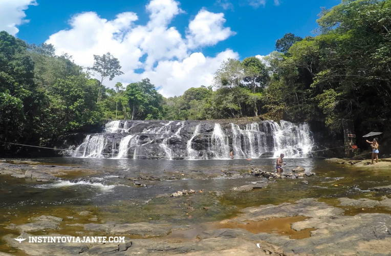cachoeira do tijuipe itacare bahia