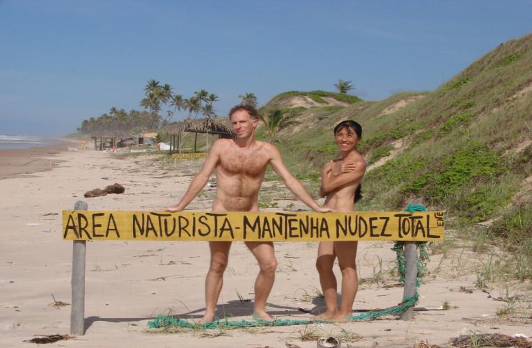 praias de naturismo nudismo brasil