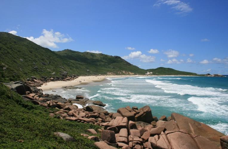 praia da galheta florianopolis nudismo