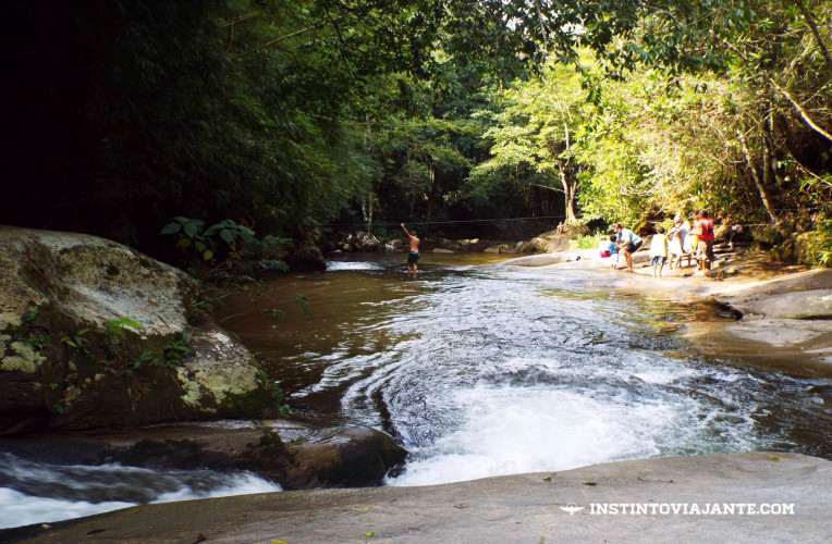 Cachoeira do Escorrega em Sana0RJ
