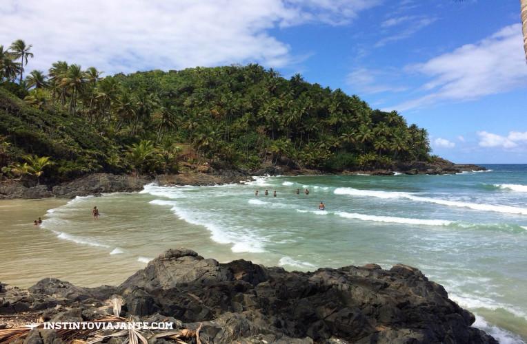 Praia do Havaizinho, em Itacaré – uma das mais bonitas na trilha das quatro praias.