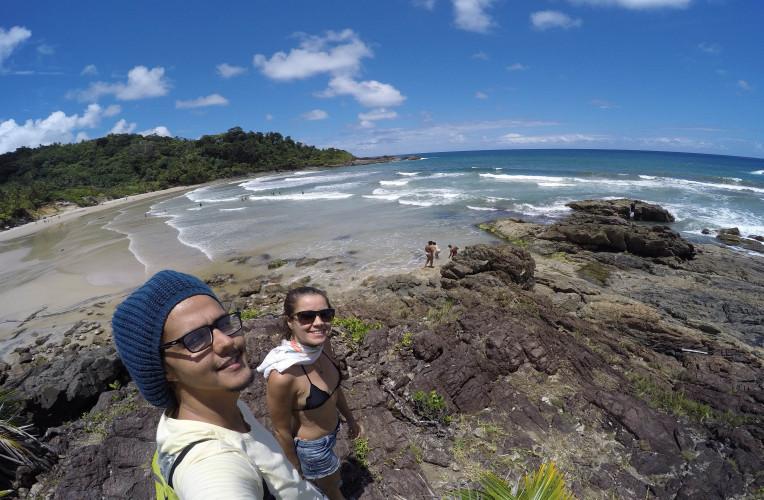 dicas trilha das quatro praias de itacare