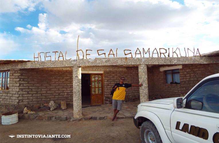 hostel de sal samarikuna uyuni bolivia