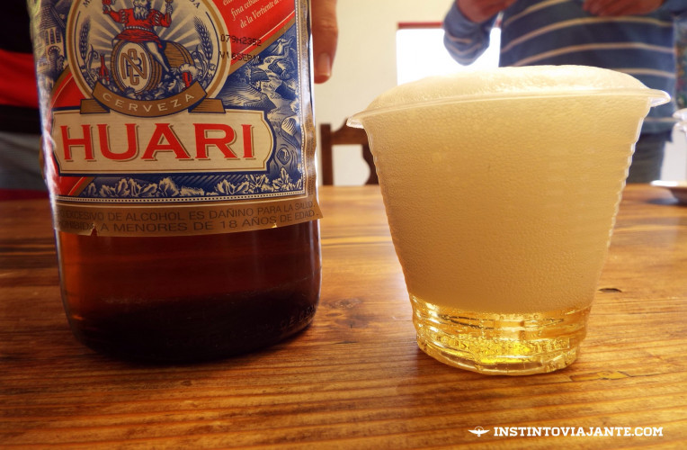 cerveja huari laguna hedionda bar los flamencos