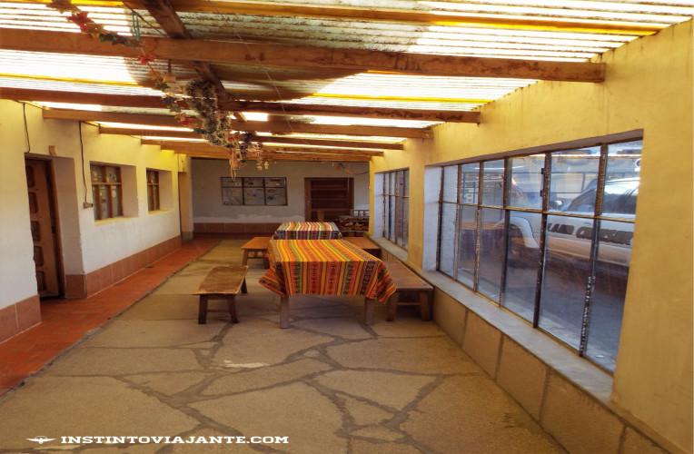 hospedagem laguna colorada uyuni bolivia