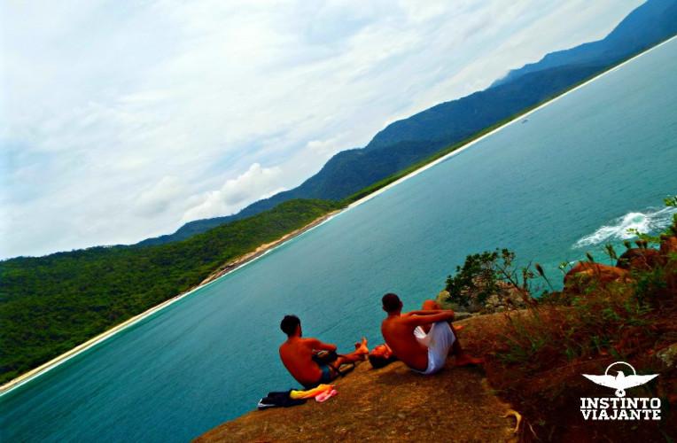 Mirante do Espia, em Aventureiro, Ilha Grande
