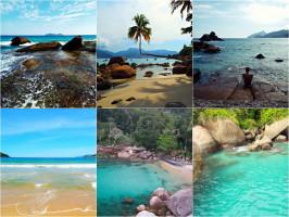 melhores praias de ilha grande Best Big Island Beaches