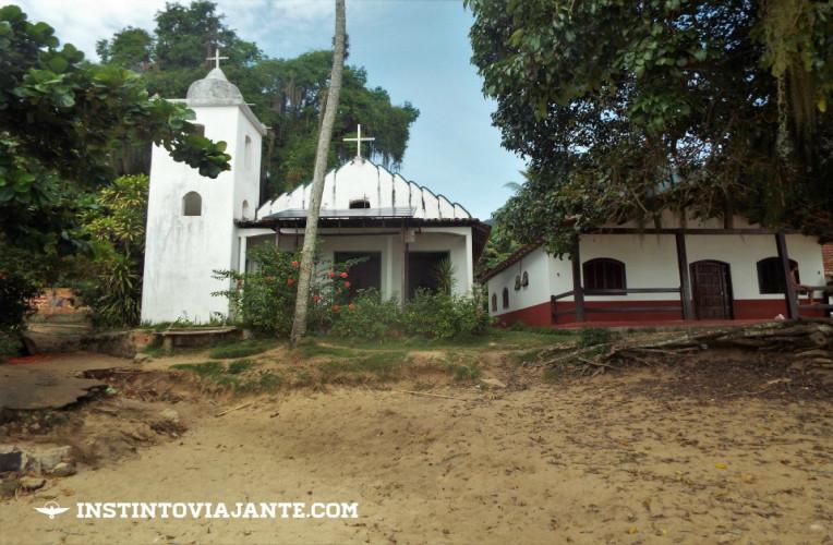 Igreja de São Sebastião, Pouso da Cajaíba, Paraty, Rio de Janeiro.