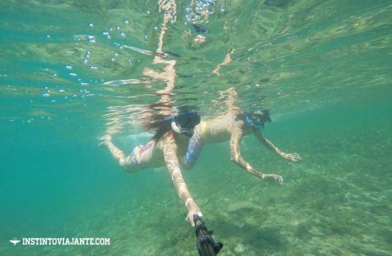 Mergulhando em Taipu de Fora, Maraú, Bahia.