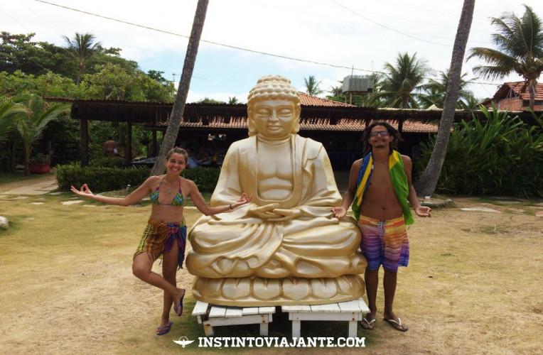 Estatua no Buddha Bar - fazendo propaganda gratuita...rsrsrs