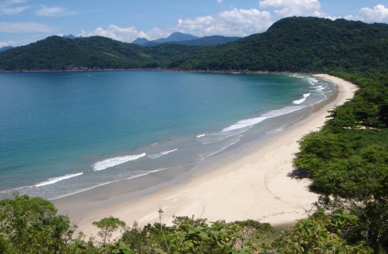 Praia do Sono vista da trilha para Antigos e Antiguinhos. Foto: Flickr | Nicholas Marino
