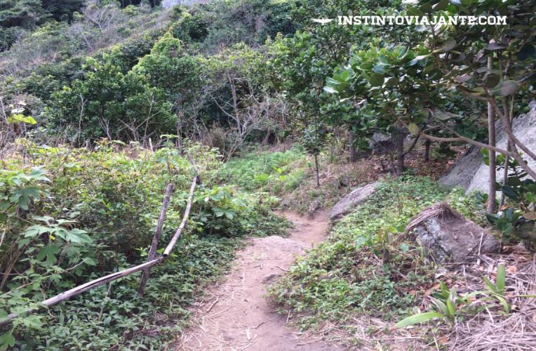 Como chegar enseada do Bananal na Serra da Tiririca
