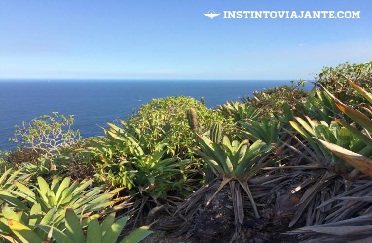 Mirante do Costão de Itacoatiara com vista para o Oceano Altântico