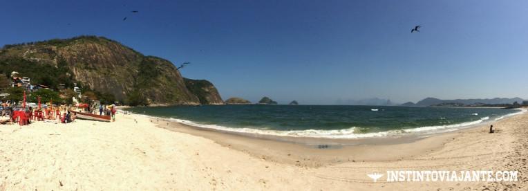 panoramica praia de itaipu niteroi rj