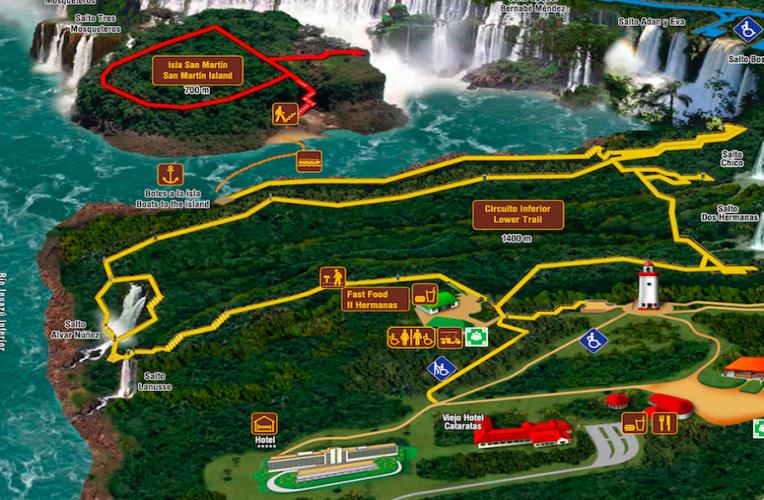 Cataratas De Iguazu Lado Argentino Mapa.Guia Completo Cataratas De Iguazu Puerto Iguazu Argentina