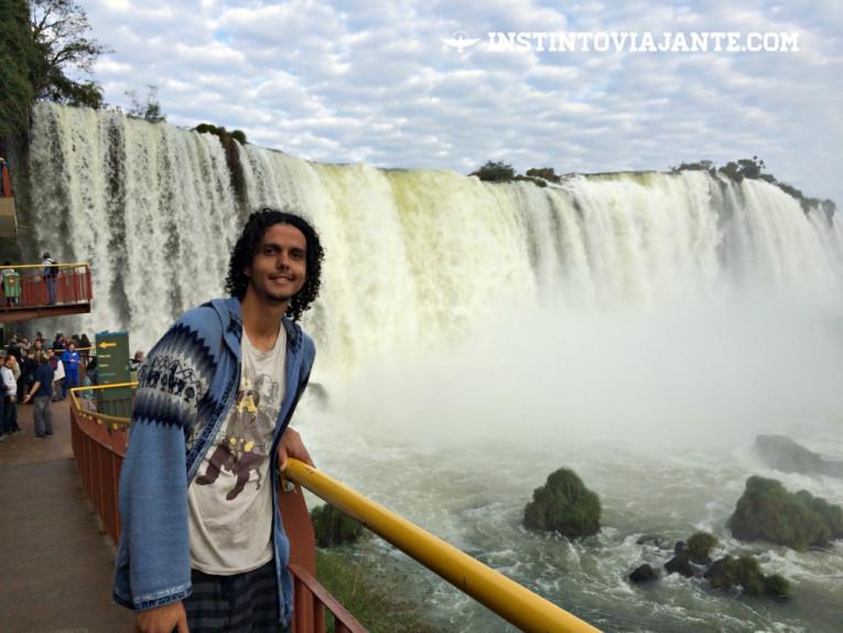 Garganta do Diabo, Cataratas do Iguaçu – principal ponto de interesse das Cataratas brasileiras.