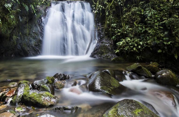 Cachoeira no Parque Estadual Intervales, em São Paulo
