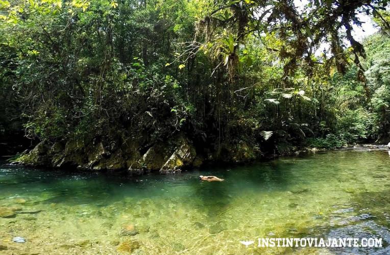 Piscina natural do rio Betari (ou Bethary) Iporanga