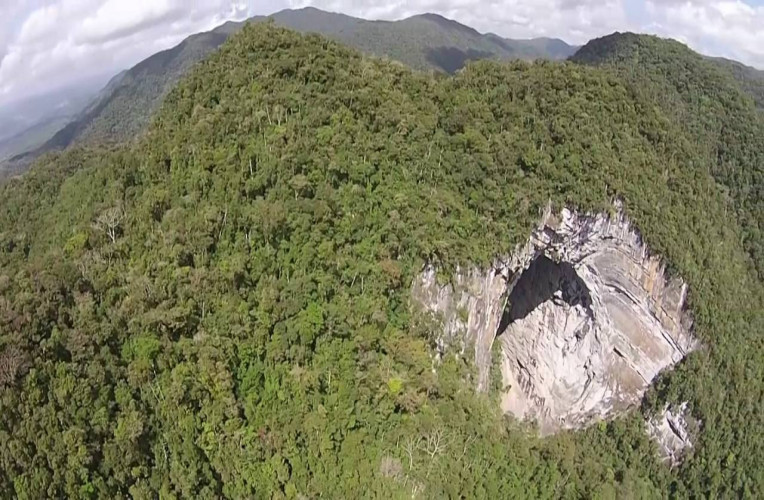 Pórtico da Caverna Casa de Pedra