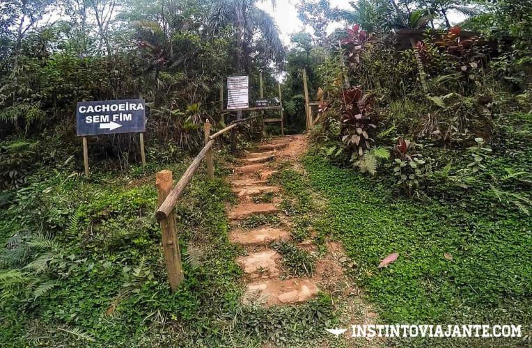 Como chegar a Cachoeira Sem Fim em Iporanga-SP