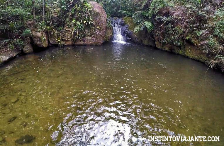 Terceira queda da Cachoeira Sem Fim