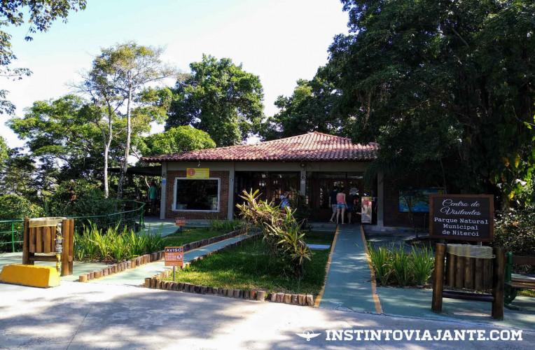 Centro de visitante do Parque da Cidade de Niterói-RJ