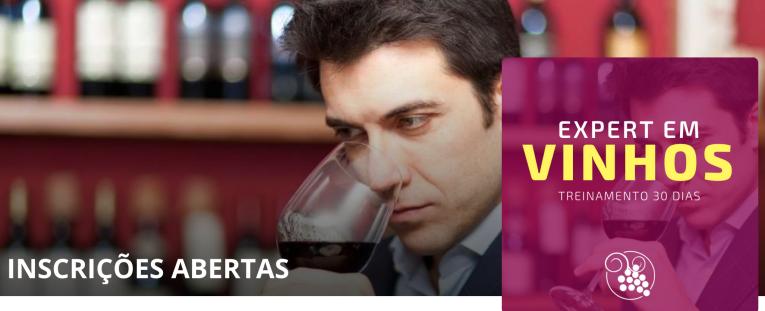 Saiba mais sobre como se tornar expert em vinhos em menos de 30 dias! (grátis uma garrafa de vinho!!)