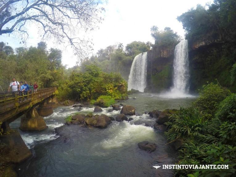 Cachoeiras nas Cataratas argentinas