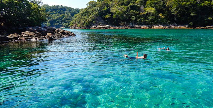 Lagoa Verde, Ilha Grande, Brasil. Foto: ilhagrande.com.br