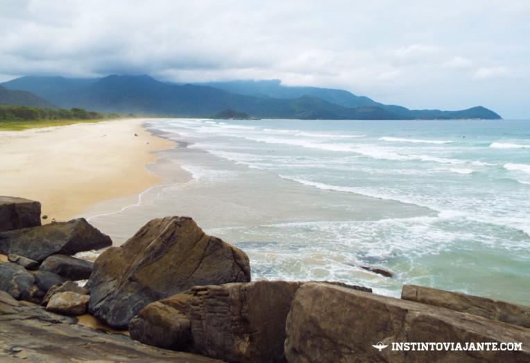 Chegando na Praia de Sul, Ilha Grande/RJ