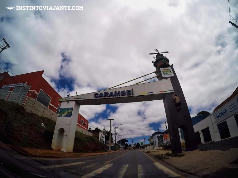 Como chegar em Carambeí-PR e no Parque Histórico