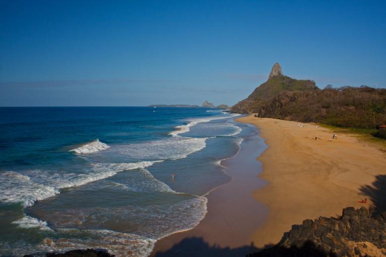 Praia Cacimba do Padre, Fernando de Noronha-PE - Melhores picos para surfar no Brasil
