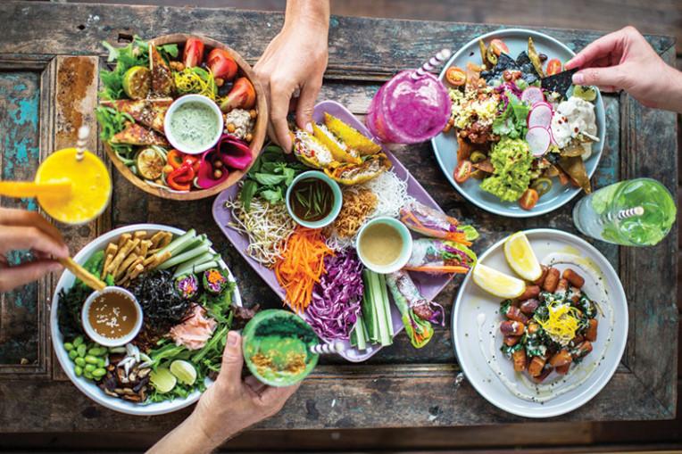 Melhores restaurantes veganos em Bali, Indonésia, The Shady Shack, Canggu