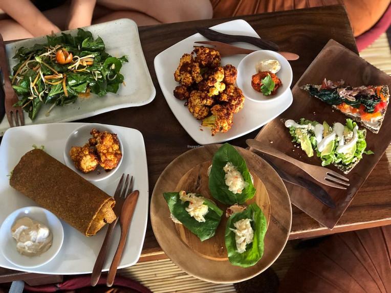 Melhores lugares veganos para comer em Bali, Indonésia, Seeds of Life