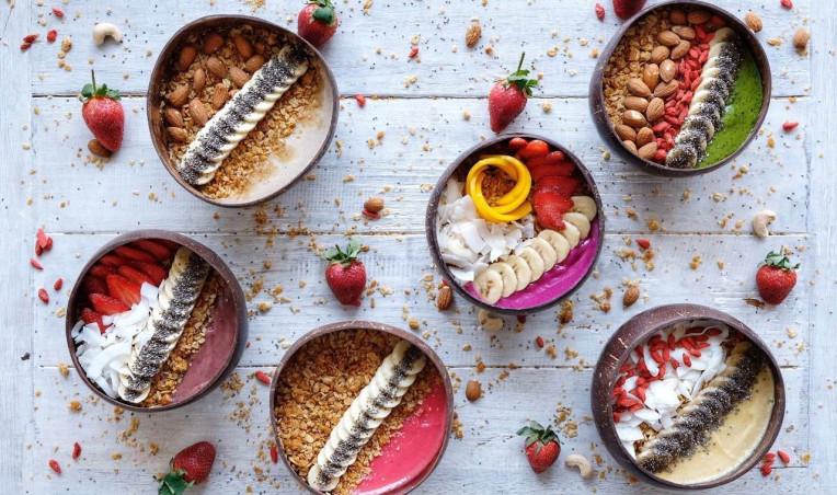 Melhores lugares para comer em Bali, Indonésia - Nalu Bowls