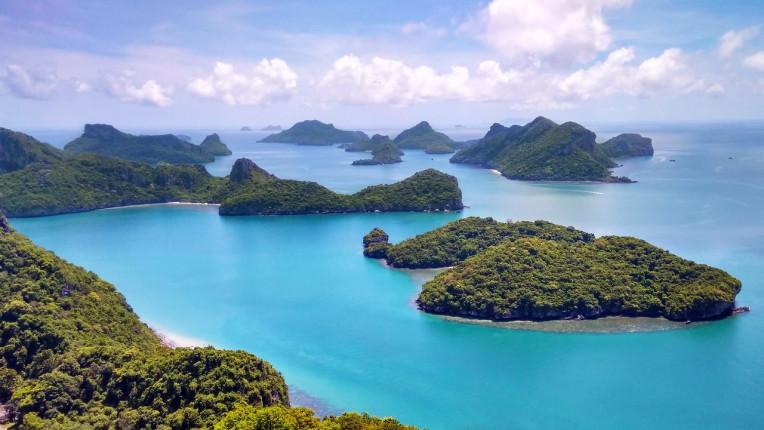 Turismo na Tailândia - Parque Nacional Mu Ko Ang Thong