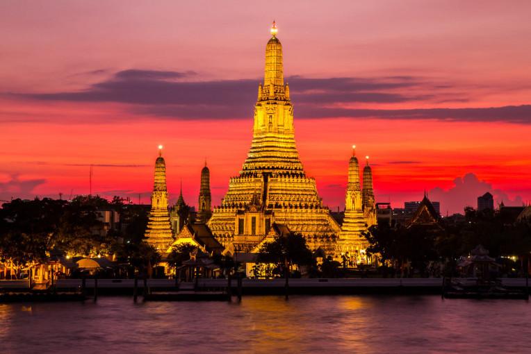 O que fazer em Bangkok, Tailandia - Templo Wat Arun