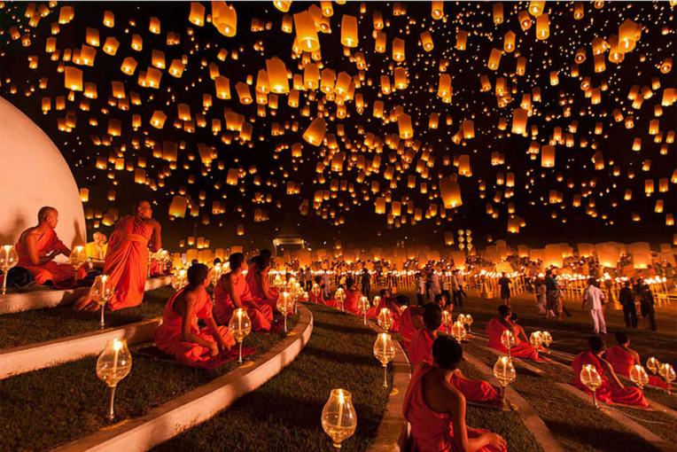 O que fazer na Tailândia - Yi Peng Festival