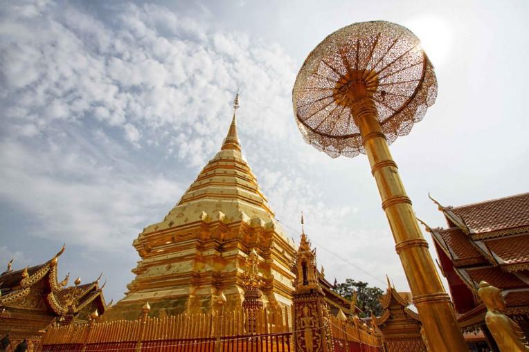 O que fazer em Chiang Mai, Tailandia - Wat Doi Suthep