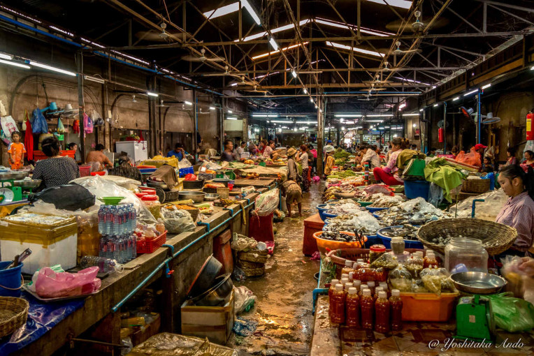Viajar para Camboja - Psar Chas - Old Market