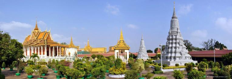 Silver Pagoda, Camboja Turismo Asia