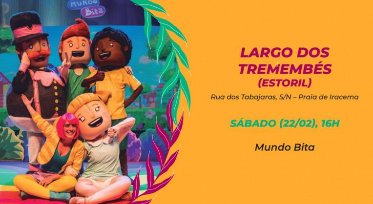 Carnaval Fortaleza 2020 Shows polos infantis