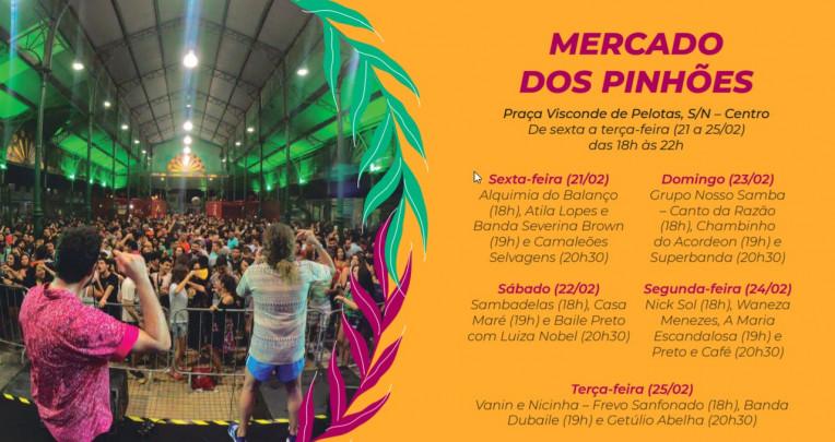Carnaval Fortaleza 2020 Programação Polos