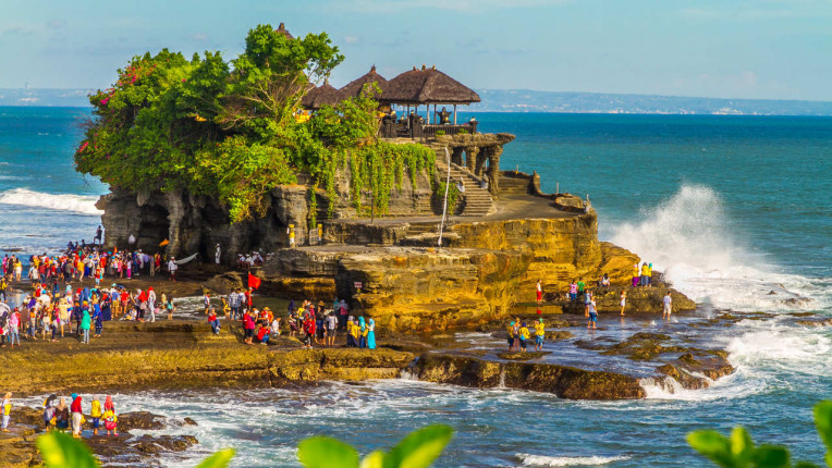 O que fazer em Bali - Indonesia - Templo Tanah Lot Temple
